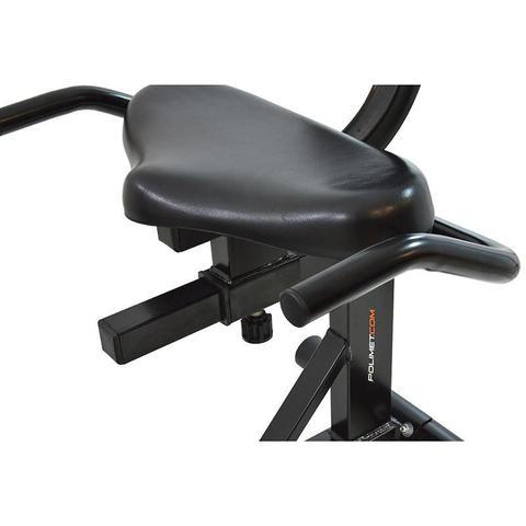 Imagem de Bicicleta ergométrica horizontal Polimet BH-3800 Preto