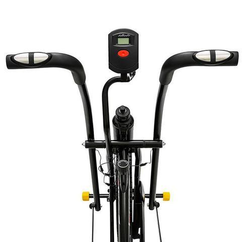 Imagem de Bicicleta Ergométrica Kikos Bike Air A5  13 Preto e Amarelo
