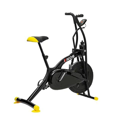 Imagem de Bicicleta Ergométrica Kikos Bike Air A5 Preto E Amarelo