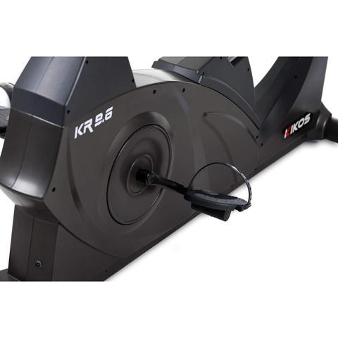 Imagem de Bicicleta Ergométrica KR9.6I Aço Carbono Horizontal Kikos Fitness KW Preto
