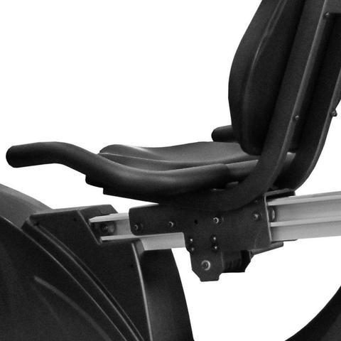Imagem de Bicicleta Ergométrica KR9.9 Aço Carbono Horizontal Kikos Fitness KW Cinza