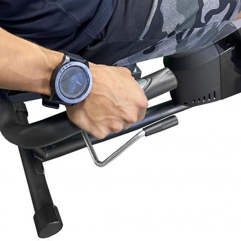 Imagem de Bicicleta Ergométrica Magnética Horizontal Com 8 Níveis Acte E26 Preta