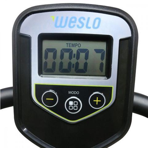 Imagem de Bicicleta Ergométrica Magnética Horizontal Weslo 6 Níveis de Esforço 6 Programas BX250