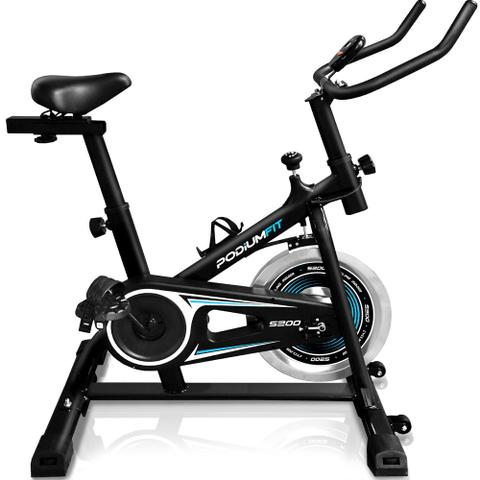 Imagem de Bicicleta Ergométrica Spinning PodiumFit S200 - Silenciosa