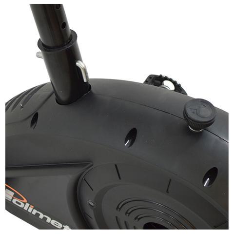 Imagem de Bicicleta ergométrica vertical mecânica bp-770 polimet  cd