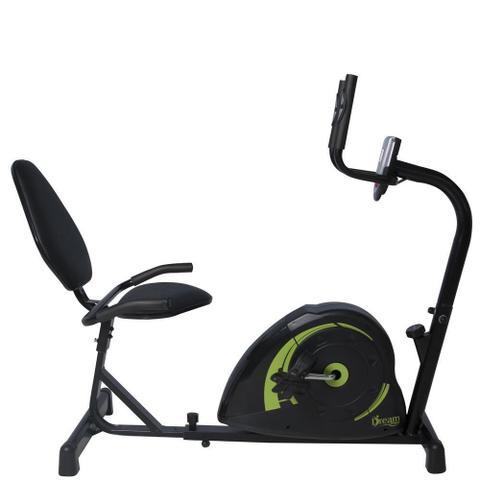 Imagem de Bicicleta Exercício Academia Em Casa Magnética Ergométrica Horizontal Dream Concept H