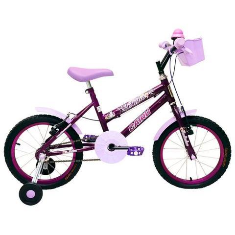 Imagem de Bicicleta Feminina Aro 16 Fadinha Cairu
