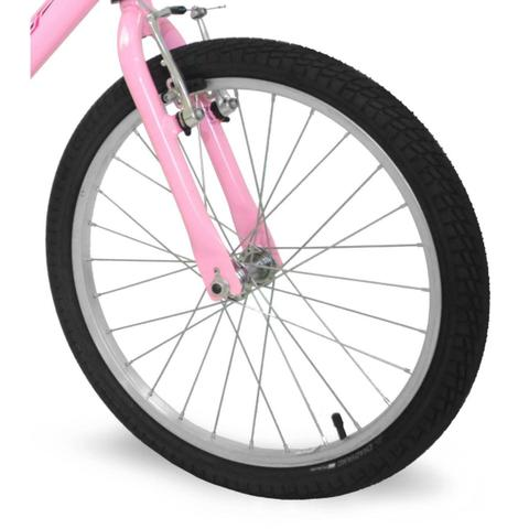 Imagem de Bicicleta Feminina Aro 20 Rosa Bella