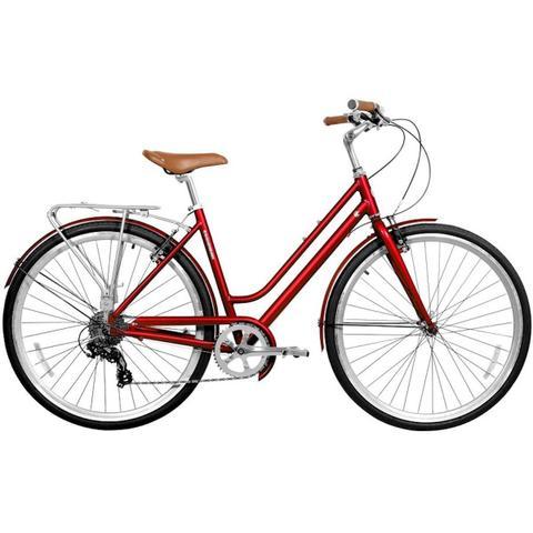 8a2bcfa7f Bicicleta feminina gama metropole aro 700 mettalic cherry - Gama ...