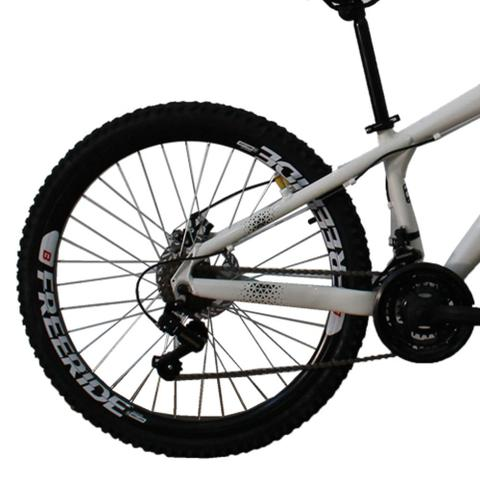 Imagem de Bicicleta Gios FRX Freeride Aro 26 Freio a Disco 21 Velocidades Cambios Shimano  Gios Branco