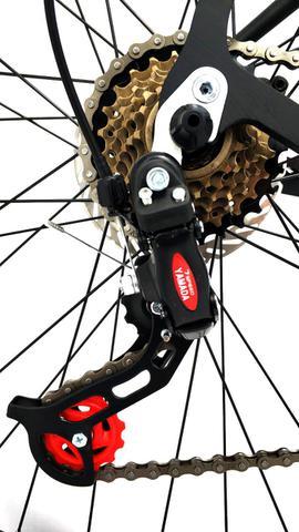 Imagem de Bicicleta GTI Isis Aro 29 Quadro 15 Alumínio preto/rosa 21V Kit Yamanda .