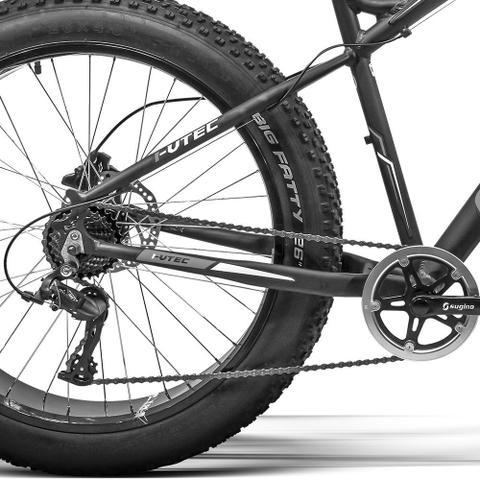 Imagem de Bicicleta GTS Fat Bike Tsi 7 Aro 26 com Freio a Disco Hidráulico Cambio GTSM1 TSI 7 Marchas e Quadro de Alumínio  GTS M1 I-Vtec FAT