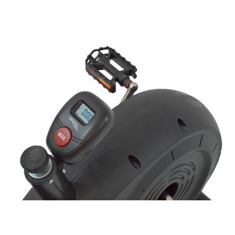 Imagem de Bicicleta Horizontal Ergométrica Magnética Lcd Bh-3800 Polimet com monitor de 5 funções