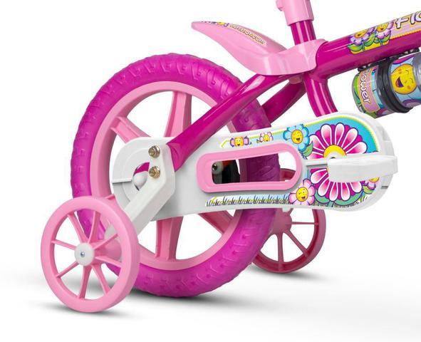 Imagem de Bicicleta Infantil Aro 12 Flower - Nathor