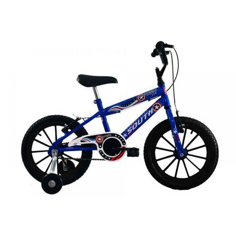 Imagem de Bicicleta Infantil Aro 16 - American Hero - Menino - South Bike