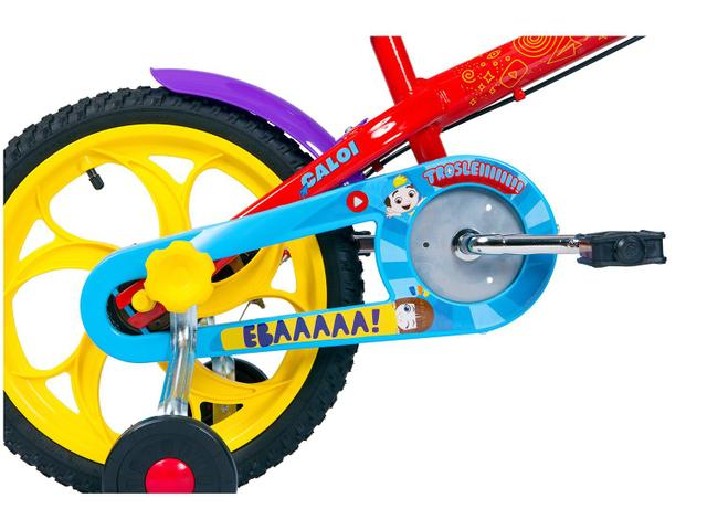 Imagem de Bicicleta Infantil Aro 16 Caloi A20 Luccas Neto