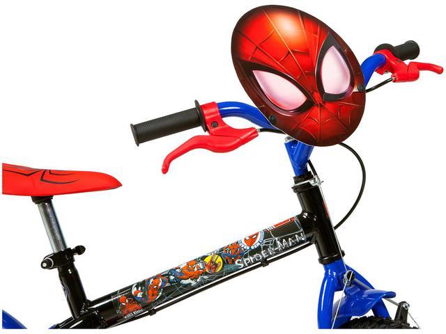 Imagem de Bicicleta Infantil Aro 16 Caloi A20 Spider-Man