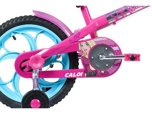 Imagem de Bicicleta Infantil Aro 16 Caloi Barbie Rosa