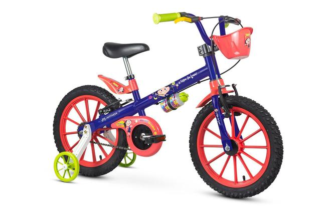 Bicicleta Nathor Show da Luna Aro 16 Rígida 1 Marcha - Azul