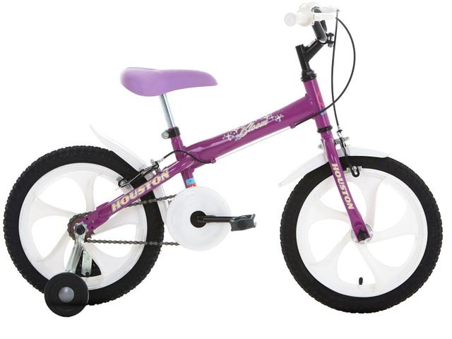 Imagem de Bicicleta Infantil Aro 16 Houston Bloom Roxa