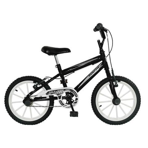 Imagem de Bicicleta Infantil Aro 16 - Preta - South Bike