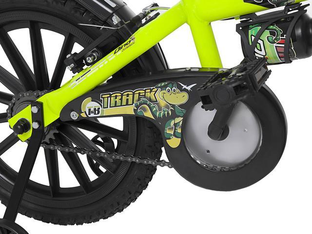 Imagem de Bicicleta Infantil Aro 16 Track  Bikes Dino Neon