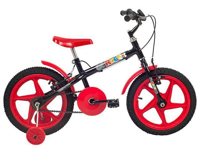Imagem de Bicicleta Infantil Aro 16 Verden Rock Vermelho
