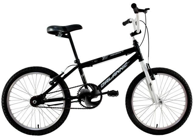 Bicicleta Dalannio Bike Mutante Aro 20 Rígida 1 Marcha - Preto