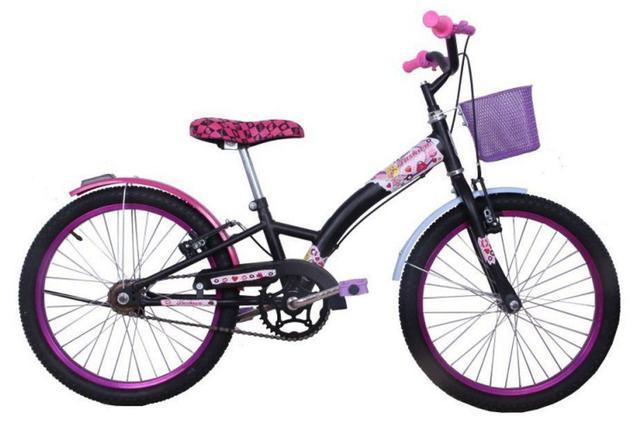 Bicicleta Dalannio Bike Fashion Aro 20 Rígida 1 Marcha - Preto