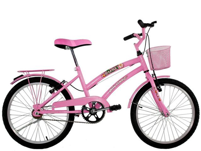 Bicicleta Dalannio Bike Susi Aro 20 Rígida 1 Marcha - Rosa