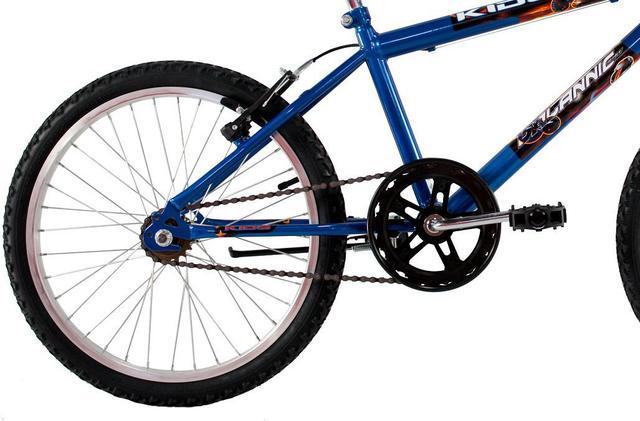 Imagem de Bicicleta Infantil Aro 20 Masculina Cross Kids Azul