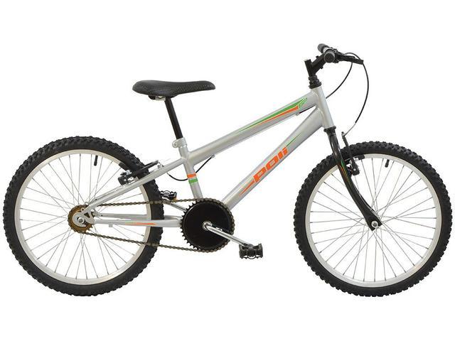 Imagem de Bicicleta Infantil Aro 20 Polimet 71371 Marcha