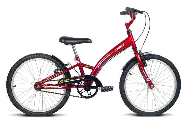 Bicicleta Verden Smart Aro 20 Rígida 1 Marcha - Vermelho