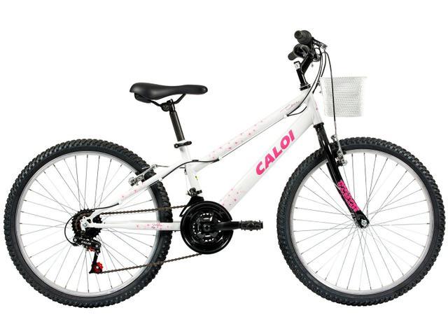 Imagem de Bicicleta Infantil Aro 24 21 Marchas Caloi Ceci