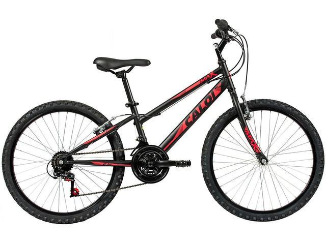 Imagem de Bicicleta Infantil Aro 24 Caloi Max 21 Marchas
