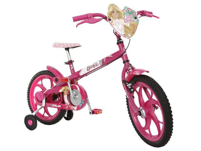 Imagem de Bicicleta Infantil Barbie Aro 16 Caloi