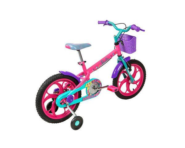Imagem de Bicicleta Infantil Caloi Barbie Aro 16