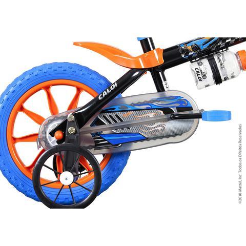 Imagem de Bicicleta Infantil Caloi Hot Wheels Aro 12 - Preto