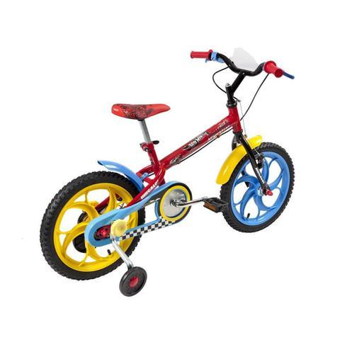 Imagem de Bicicleta Infantil Caloi Hot Wheels Aro 16 - Vermelho