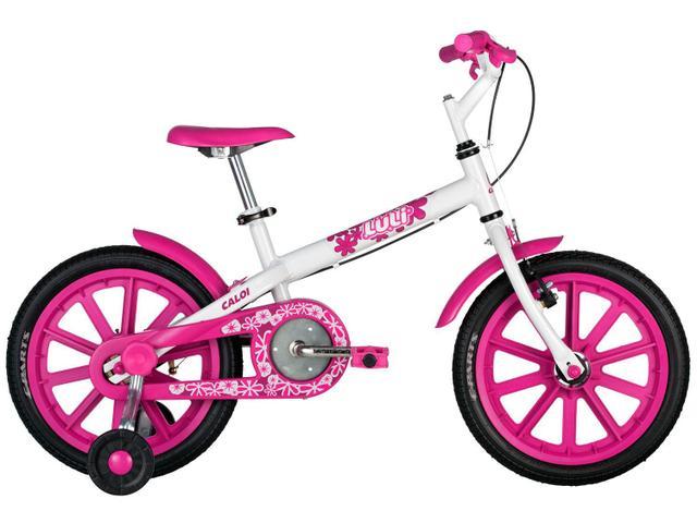 Imagem de Bicicleta Infantil Caloi Luli Rosa Aro 16