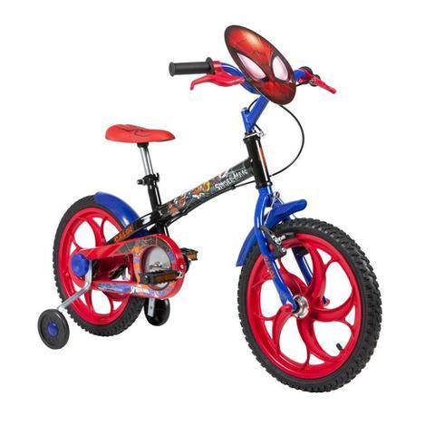Imagem de Bicicleta Infantil Caloi Spider Man Aro 16 - Preto