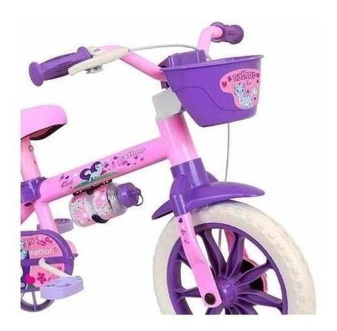 Imagem de Bicicleta Infantil Nathor Aro 12 Menina Cat De 2 A 5 Anos