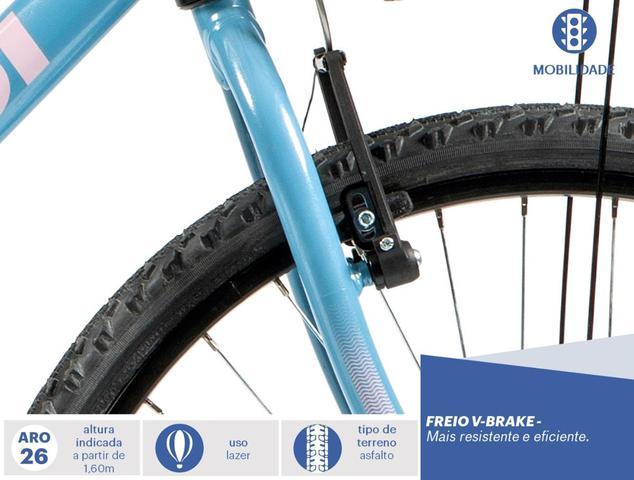 8309d61b3 Imagem de Bicicleta Mobilidade Caloi Ventura Aro 26 21 Velocidades Azul