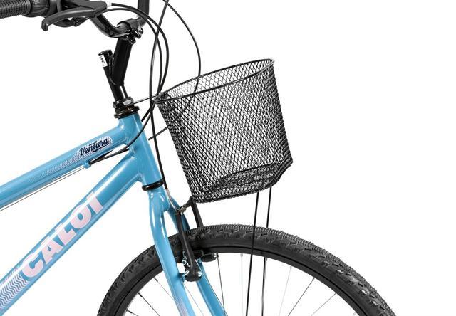 94647256f Imagem de Bicicleta Mobilidade Caloi Ventura Aro 26 - com Cesto Freio  V-Brake 21
