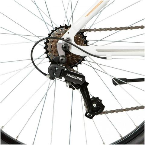 Imagem de Bicicleta Mobilidade Schwinn Madison Aro 26 - Susp Dianteira - Quadro Alumínio - 21 Vel - Branco