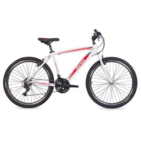Imagem de Bicicleta Mormaii Aro 26 B-Range 1.0 21V  Branco/Vermelho
