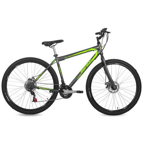 Imagem de Bicicleta Mormaii Aro 29 Jaws Disk Brake 21V C18  Grafite/Verde
