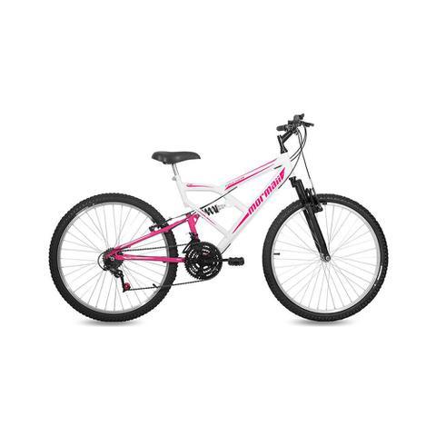 Imagem de Bicicleta Mormaii Feminina Aro 26 Fullsion 18V C18