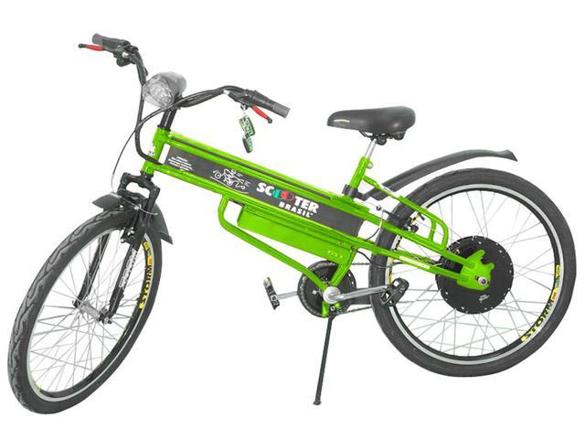 Imagem de Bicicleta Motorizada Scooter Brasil Pró Aro 26