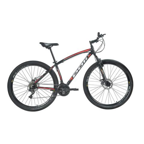 Imagem de Bicicleta Mountain Bike Polimet Alumínio Aro 29 Freio A Disco Preta